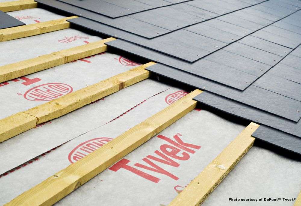 Tyvek Supro Breathable Roofing Membrane 50mt X 1 5mt White